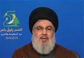 السید نصر الله: الحصار السیاسی والمالی للمقاومة معرکة خاسرة