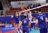 لیگ ملتهای والیبال|ایران در نخستین گام مغلوب فرانسه شد+ تصاویر