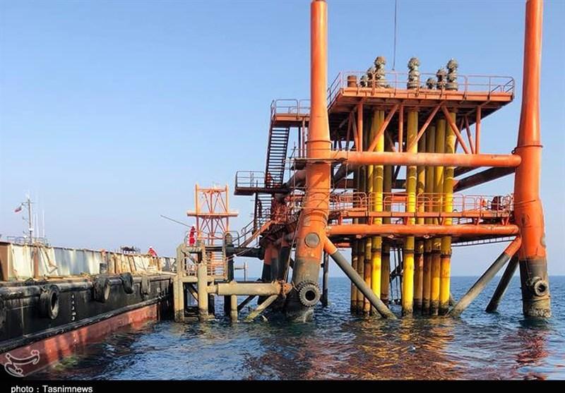 بوشهر  سکوی فاز 22 پارس جنوبی روزانه 500 میلیون فوت مکعب گاز استخراج میکند