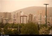 مردم استان کرمانشاه 5 روز در هوای ناسالم نفس کشیدند