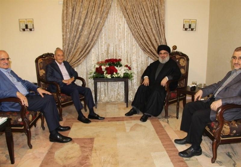 السید نصر الله و الرئیس بری یؤکدان على الدعم الکامل للشعب الفلسطینی