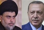 ترک صدر اردوغان کا صدر تحریک کے سربراہ مقتدی صدر سے فون پر رابطہ