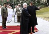 "پیام تبریک روحانی به ""مادورو"""