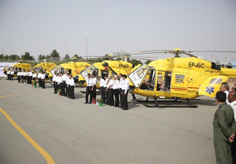 Iran Adds 6 Advanced Choppers to EMS Fleet (+Photos)