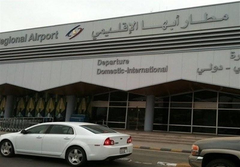 تعلیق الملاحة فی مطار أبها بعد غارات لسلاح الجو الیمنی المسیر