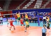 پیروزی سه بر صفر تیم ملی والیبال ایران مقابل استرالیا