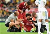 فینال لیگ قهرمانان اروپا|تساوی یک نیمهای لیورپول و رئال مادرید در شب مصدومیت کارواخال و صلاح