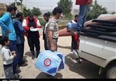 کمکهای جمعیت هلال احمر همدان به مناطق سیلزده ارسال شد