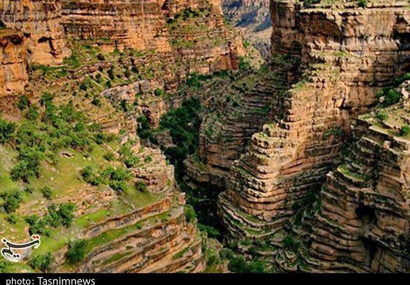 Shirz Canyon: An Amazing Place in Heart of Iran's Kuhdasht