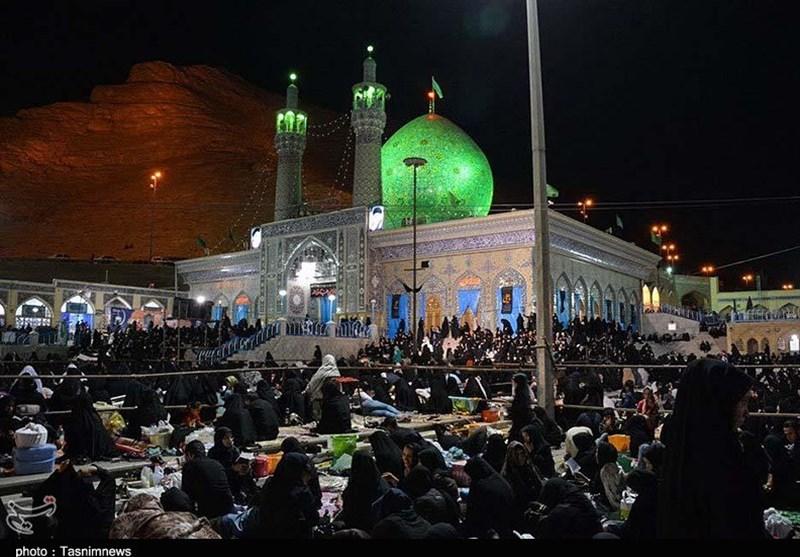 اصفهان  از صله رحم تا کلوخ اندازان در ماه رمضان در شهرضا + تصاویر