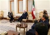 Iran' Zarif, UN Lebanon Envoy Meet in Tehran