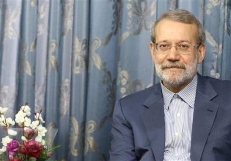 لاریجانی یهنئ باعادة إنتخاب بری رئیساً للبرلمان اللبنانی