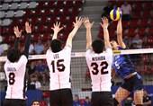 لیگ ملتهای والیبال|شکست ناباورانه ایران مقابل ژاپن در یک بازی پراشتباه