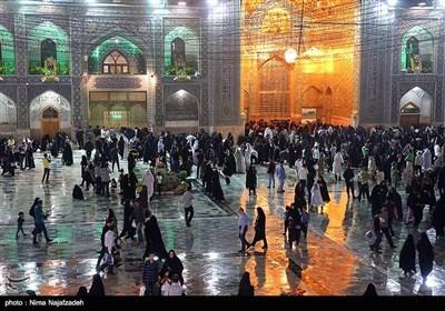 A Rainy Day at Holy Shrine of Imam Reza (AS)