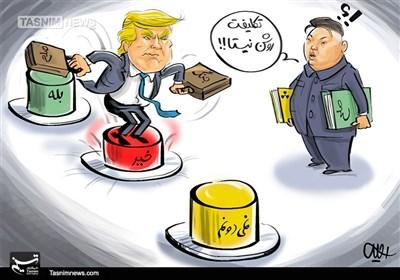 کاریکاتور/ بله، خیز، نمیدانمهای یک دیوانه!