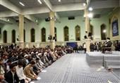 دیدار دانشجویان با امام خامنهای| گلرو: برای جهش در رسیدن به اهداف نیازمند نوگرایی هستیم