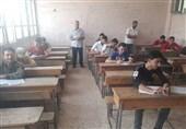گزارش تسنیم از شمال سوریه| دانشآموزان «فوعه و کفریا» تکفیریها را به چالش کشیدند+تصاویر