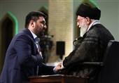دیدار دانشجویان با امام خامنهای | اخگرپور: برخی اساتید دانشگاه کارشان پمپاژ ناامیدی نسبت به آینده نظام است