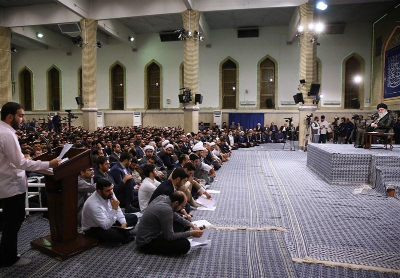 دیدار دانشجویان با امام خامنهای|کوهی مقدم: سطح ارتباط مسئولین با نخبگان علمی مطلوب نیست