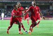 شکست یک نیمهای تیم ملی ایران مقابل ترکیه