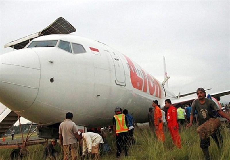 سقوط هواپیمای اندونزیایی با 188 سرنشین به دریا