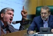بگو مگوی لاریجانی و کواکبیان در صحن علنی مجلس