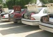 بوشهر  181 دستگاه خودروی سواری حامل کالای قاچاق در تنگستان توقیف شد