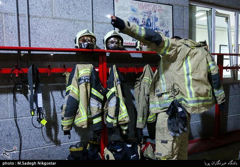 آتشنشانان تهرانی لباس جدید میپوشند