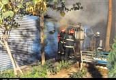 اراک| جزئیاتی از وقوع آتشسوزی در بیمارستان ولیعصر(عج) اراک+تصاویر