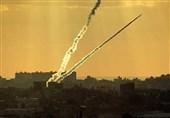 لحظه اصابت موشکهای مقاومت و فرار صهیونیستها + فیلم