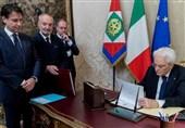 مذاکره رئیس جمهور ایتالیا با احزاب مختلف برای پایان دادن به بحران سیاسی