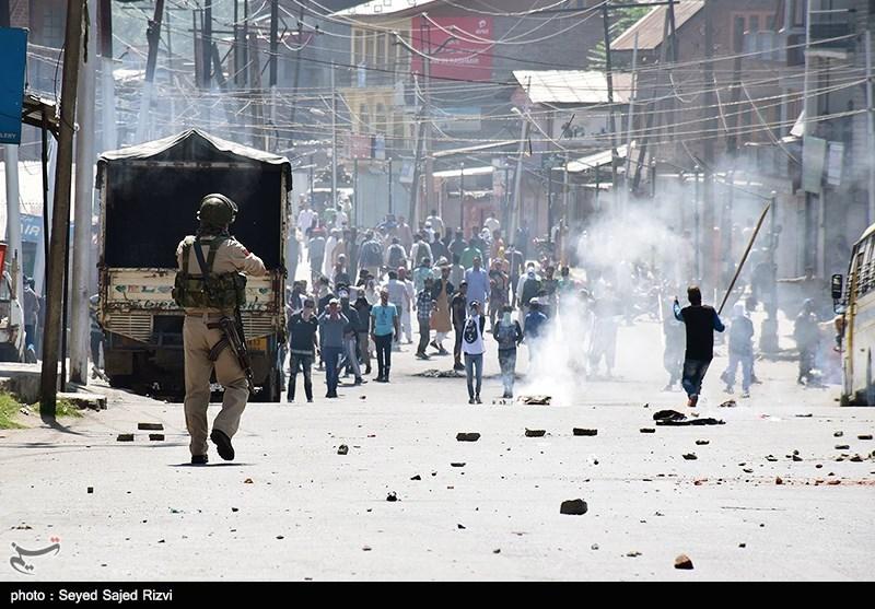 حمله نظامیان هندی به مردم کشمیر اشغالی 25 زخمی برجای گذاشت