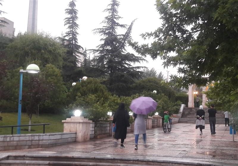 """امروز و فردا بارش """"باران"""" تابستانی چند استان کشور را در بر میگیرد"""