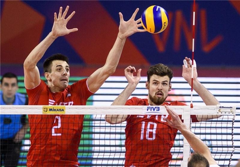 لیگ ملتهای والیبال|روسیه حریف فرانسه در فینال شد/ برزیلیها به راحتی تسلیم شدند