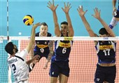 Iran Overpowered by Italy in VNL
