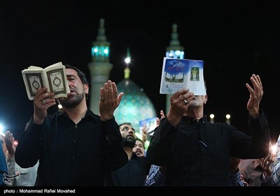 Iranian Muslims Attend Religious Ceremonies to Mark Laylat Al-Qadr
