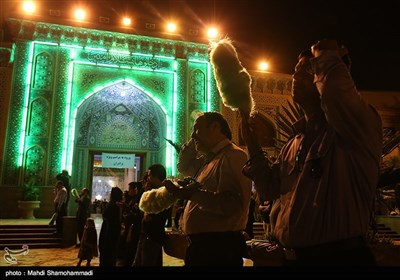 Laylat al-Qadr Marked by Worshippers in Tehran's Shah-Abdol-Azim Shrine