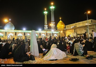 Laylat al-Qadr Marked by Worshippers in Tehran's Shah-Abdol-Azim Shrine