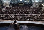 حاشیهنگاری تسنیم|باز هم زیلوهای ساده بیت رهبری در حرم امام+ عکس