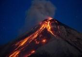 قربانیان فوران آتشفشان گواتمالا به 65 نفر افزایش یافت + تصاویر