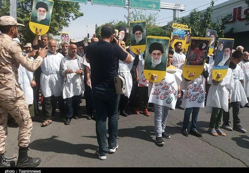 روایتی عینی از قیام 15 خرداد 42 / کفن پوشان پیشوایی چگونه از دستگیری امام (ره) آگاه شدند؟ + فیلم