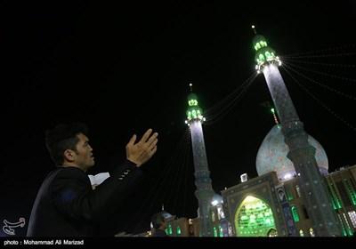 مراسم احیاء اللیلة الـ 21 من شهر رمضان المبارک ـ مسجد جمکران
