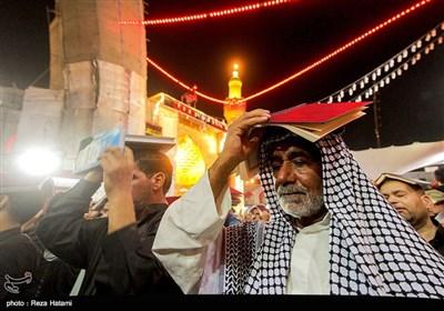 مراسم احیای شب بیست و یکم رمضان در نجف اشرف