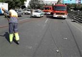 2 کشته و 3 زخمی حاصل تصادف خودرو ساندرو در اتوبان تهران - قم