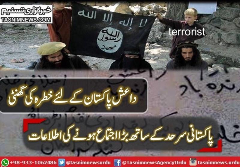 داعش پاکستان کے لئے سب سے بڑا خطرہ قرار