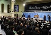مراسم سوگواری شهادت امیرالمؤمنین(ع) با حضور رهبرانقلاب برگزار شد