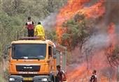ادامه آتشسوزی در سرزمینهای اشغالی در سایه ناتوانی صهیونیستها در مهار آتش