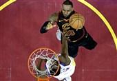 تصاویری از بازی سوم فینال لیگ NBA