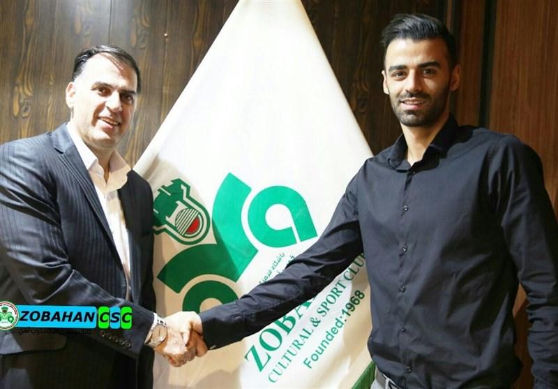 آذری: حسنزاده بدون دریافت یک ریال از باشگاه ذوبآهن جدا شد