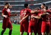 البرتغال تفرض التعادل على کرواتیا بغیاب رونالدو